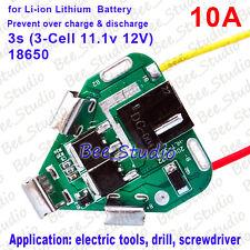 PCB PCM 12V Batería Li-ion de Litio proteger Módulo De Circuito Hazlo tú mismo Board Para Makita