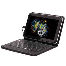 "iRULU HD 9"" 8GB Google Android 4.4 Quad Core WIFI Tablet PC w/ Keyboard Earphone"