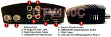 Premium ATSC Clear QAM Receiver + USB Recording Media Player  1080p HDMI Out