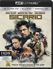 Sicario Emily Blunt Benicio del Toro DVD Edited Clean Flicks Family CleanFlicks