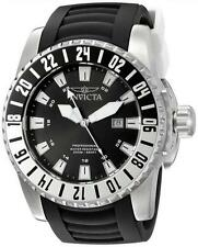 Invicta 19681 52mm Pro Diver Date GMT Polyurethane Strap Analogue Mens Watch