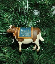 Milk Cow Christmas Ornament, Dairy Farm, Farmer