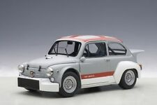 1/18 Autoart-Fiat Abarth 1000 TCR 1970 Matt gris/Red Stripes