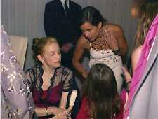 1 Photo Foto Vera Madonna & Jade Jagger New Hotel Sanderson London 2000