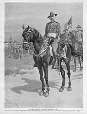 SPANISH AMERICAN WAR MAJOR GENERAL WESLEY MERRITT PHILIPPINE ISLANDS HORSES