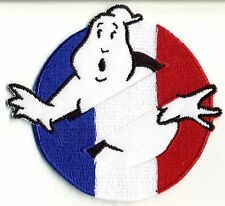France, French Flag Style Embroidered Ghostbusters No Ghost Patch