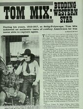 Tom Mix - Rodeo and Western Move Star with 101 Ranch+Caldwell*,Fawcett*, Forde*