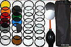 52mm 15 filter lens kit set Nikon Canon Sony Camera D3200,D3100 D5200