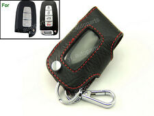 Leather Remote Case Smart Key Holder Cover For Hyundai Sonata IX35 Tucson 3BT 4B