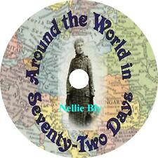 Around the World in Seventy-Two Days Nellie Bly Audiobook unabridged on 1 MP3 CD
