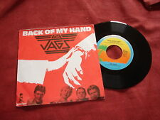 "THE JAGS Back of my hand  RARE 7"" DUTCH NEW WAVE MOD"