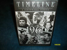 Timeline 1961 (DVD, 2000) JFK A Historical Series BRAND NEW AND SEALED