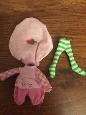 Strawberry Shortcake Vintage Raspberry Tart Outfit Hat Tights