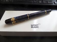 Montblanc Writers Edition 1998 Edgar Allan Poe Fountain Pen Rare number