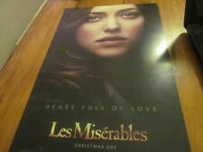 Amanda Seyfried Les Miserables Signed 11x17 Movie Poster COA