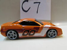 HOT WHEELS 2007 MYSTERY RAPID TRANSIT ORANGE LOOSE