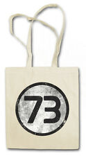 THE BIG BANG NUMBER NO. 73 THEORY HIPSTER BAG - Stofftasche Stoffbeutel - TBBT