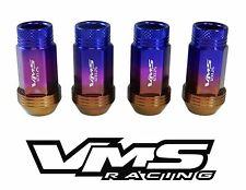 VMS RACING 20PC TITANIUM BURN EXTENDED WHEEL LUG NUTS FOR 03-09 NISSAN 350Z Z33