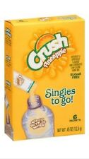 Pineapple Crush Singles to Go Sugar Free Drink Mix