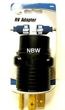 NEW - RV Power Cord Adapter: 30 Amp Female to 50 Amp Male