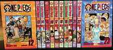 One Piece : Baroque Works (Vol.12 - 23) English Manga Graphic Novels Set Lot NEW