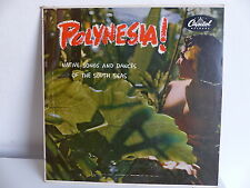 Polynesia ! Native songs and dances of the south seas H493 Sexy nude cover 25 cm