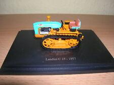 Atlas Tractor Landini C 25 Baujahr 1957 orange blau blue Traktor Trekker, 1:43