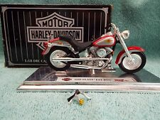 Avon -1:18 Scale Die Cast metal Harley Davidson 1999 FLSTF Fat Boy Collectible