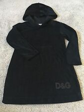 D&G Dolce & Gabbana Junior New Hoody Dress Top Size 2-3yrs Old RRP £120