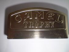 Extra Rare Chrome Camel Trophy Metal Survival Case Watch Box , 11'' X 6' .TOP !