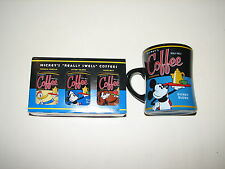 Disney Theme Parks Mickey's Really Swell Coffee Cup Mug & Can Coffee New NIB