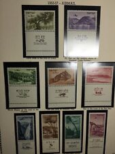 1953-57 Landscape, Third Airmails,And Maccabiah Israel Stamp MNH