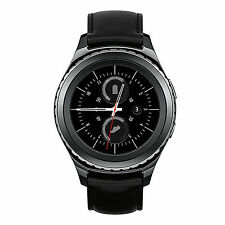 """Samsung Gear S2 Classic Water Resistant Wi-Fi Bluetooth 1.2"""" Leather SmartWatch"""
