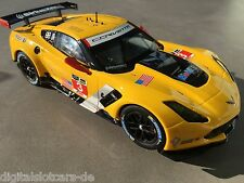CARRERA DIGITAL 124 23818 Chevrolet Corvette C7 R No. 3  NEU STP FOTOS