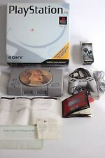 �� Playstation 1 Console with BOX and Accessories SCPH-1001/94000 W/Game Disc ��