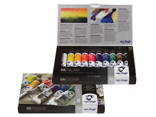 Van Gogh Oil Paint Set 10 x 20ml Artists Paint Tube Box Set