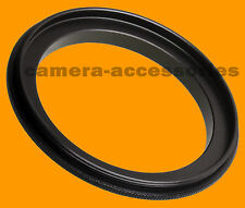 58-58mm Male to Male Double Coupling Ring reverse macro Adapter 58-58 mm