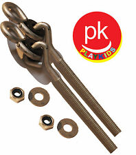 "Swing Set Hanger 4"" 3/8"" (2) Porch Seat Playground Hardware Wood Ny-Glide SH-14"
