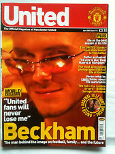 No 114 Manchester United Official Magazine April 2002
