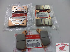 GENUINE HONDA BRAKE PAD SET FRONT &_REAR CBR1000RR CBR600RR