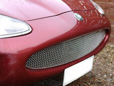 Jaguar XK8 XKR Stainless Mesh Grille Arden Style in Black or Chrome Grill 97-04