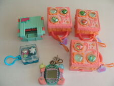 HASBRO LPS TEENIEST TINIEST PET SHOP COMPACT LOT OF 5 PLUS TOMAGOTCHI GAME