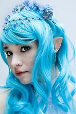 Small Elf Ears Costume - Latex Prosthetic Painted Light