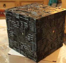 Star Trek Eaglemoss Light up Borg Cube Star Trek TNG + Freebie