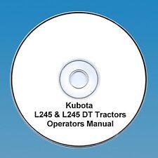MANUALE Operatori Trattore KUBOTA l245 & l245dt