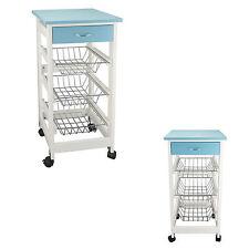 Küchenwagen Servierwagen Küchenrollwagen Küchentrolley Rollwagen Schublade