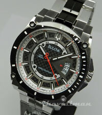 New Mens Bulova Carbon Fiber Precisionist Champlain 98B180 Carbon Fiber Watch