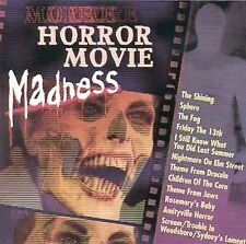 More Horror Movie Madness by Various Artists (CD,1999, K-Tel Dist.) $2 SHIPPING