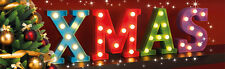 New Elegant Christmas / Xmas Marquee Led  Letter Set Christmas Decorations