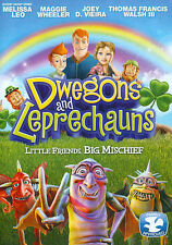 Dwegons and Leprechauns DVD 2014 Childs Kids family movie fairy tales